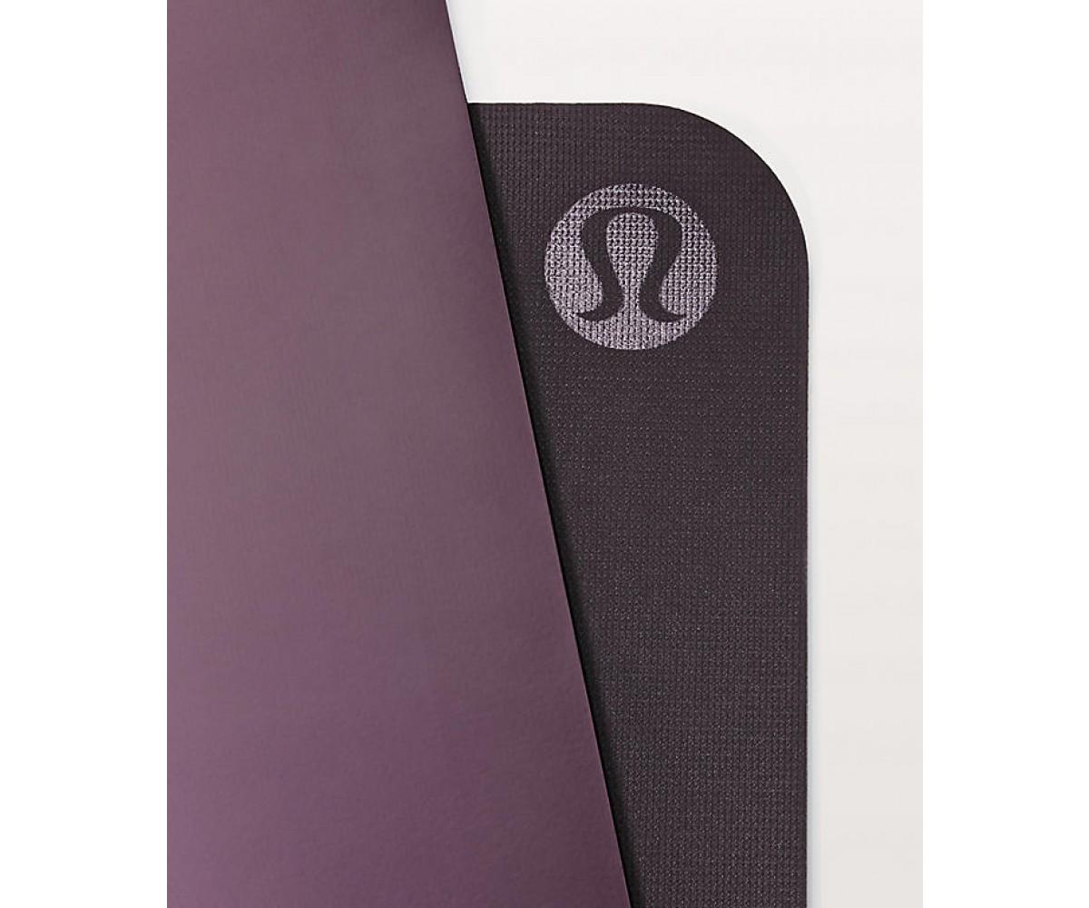 Lululemon The Reversible Mat 5mm Black Currant/Boysenberry