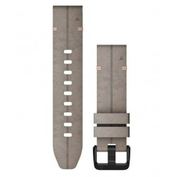 Garmin Quickfit 20mm Shale Gray Suede Band