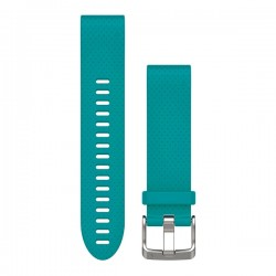 Garmin Quickfit 20mm Watch Band Turquoise Silicone