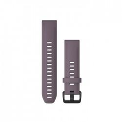 Garmin Quickfit 20mm Purple Storm Silicone Band