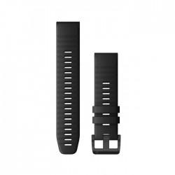 Garmin Quickfit 22mm Black Silicone Band