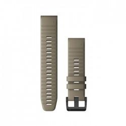 Garmin Quickfit 22mm Dark Sandstone Silicone Band