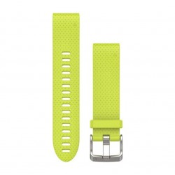 Garmin QuickFit 20 Watch Bands Amp Yellow Silicone