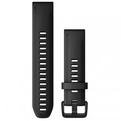 Garmin Quickfit 20 Watch Band Black Leather