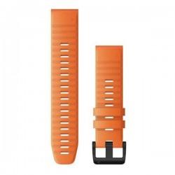 Garmin Quickfit 22mm Ember Orange Silicone Band