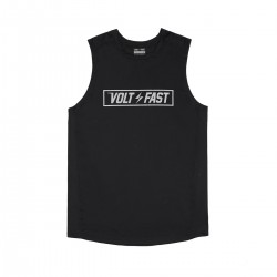 Volt and Fast - Sleeveless Box Logo Jersey Black