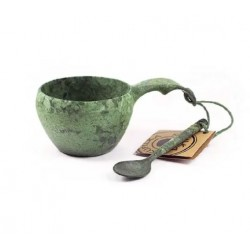 Kupilka 21 Classic Cup + Tea Spoon Green