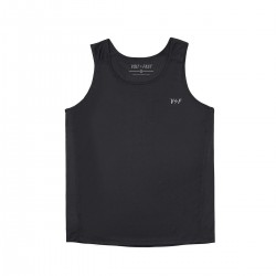 Volt and Fast - Singlet Small Logo Black