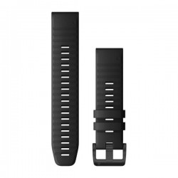 Garmin QuickFit 22 Watch Bands - Black Silicone