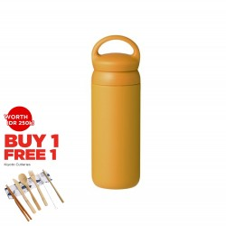 Kinto Day Off Tumbler 500ml Mustard