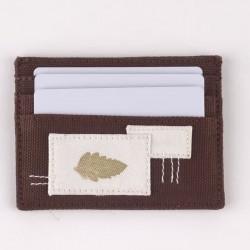 Dompet Kartu Hazel Sadajiwa Patched Cardholder Petals et Bloom