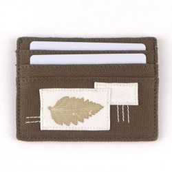 Dompet Kartu Olive Sadajiwa Patched Cardholder Petals et Bloom