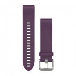 Garmin Quickfit 20 Watch Band Dark Purple Silicone