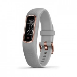Garmin Vivosmart 4 - Rose Gold with Gray Band Regular