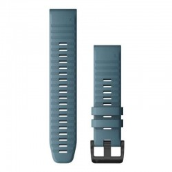 Garmin Quickfit 22mm Lakeside Blue Silicone Band