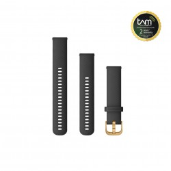 Garmin Quick Release 20mm BLACK WITH GOLD