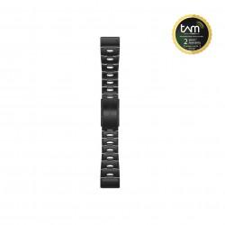 Garmin Quickfit 26mm Carbon Gray DLC Titanium Band