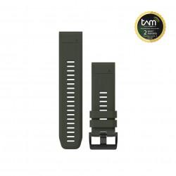 Garmin Quickfit 26 Watch Band Moss Green Silicone