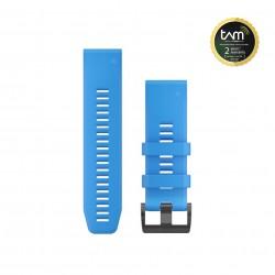 Garmin Quickfit 26mm Watch Bands Cyan Blue Silicone