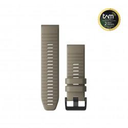 Garmin Quickfit 26mm Dark Sandstone Silicone Band