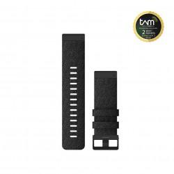 Garmin Quickfit 26mm Heathered Black Nylon Band