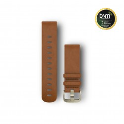 Garmin Vivomove HR Replacement Band Light Brown Leather S/M