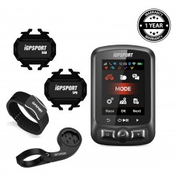iGPSPORT - Bundling iGS620 with Heart Rate Sensor (Arm)