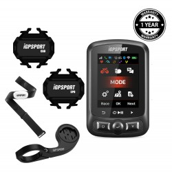iGPSPORT - Bundling iGS620 with Heart Rate Sensor (Chest)
