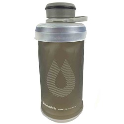 Hydrapak Stash 1L Collapsible Bottle - Grey