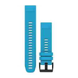 Garmin Quickfit 22 Cirrus Blue Silicone Band