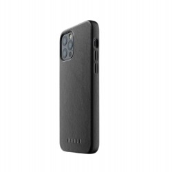 Mujjo - Full Leather Case for iPhone 12 Pro Max Black