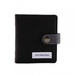Wallts - Jarvis Card Wallet Black Charcoal