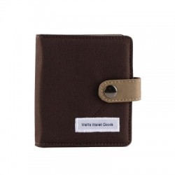 Wallts - Jarvis Card Wallet Brown-Khaki