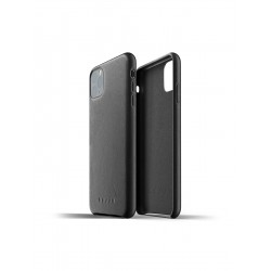 Mujjo - Full Leather Case for iPhone 11 Pro Max Black