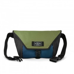 LBB The Slingshot Sling Bag - Olive/Navy