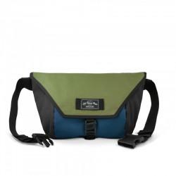 LBB The Slingshot Sling Bag - Olive/Navy