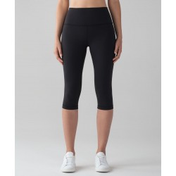 Lululemon Wunder Under Hi-Rise 1/2 Tight Black