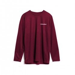 Volt and Fast Bolt-Tee Women's Long Sleeve Maroon