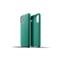 Mujjo - Full Leather Case for iPhone 11 Pro Alpine Green