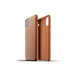 Mujjo - Full Leather Case for iPhone 11 Pro Max Tan