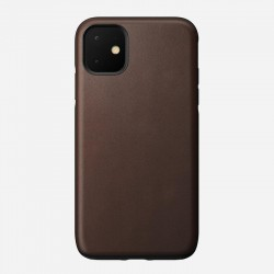 Nomad iPhone 11 Rugged Case - Rustic Brown Leather