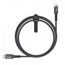 Nomad Rugged Lightning Cable USB C - 1.5m iPhone iPad to Macbook