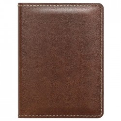 Nomad Wallet - Slim Rustic Brown Leather