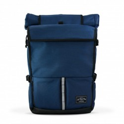 LBB The Peloton Rolltop Backpack - Navy