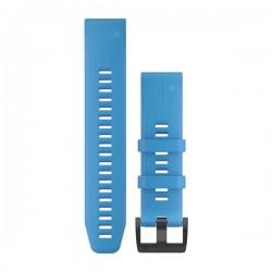 Garmin Quickfit 22mm Watch Bands Cyan Blue Silicone