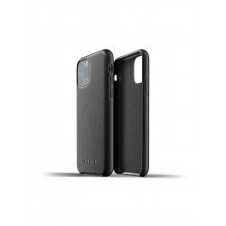 Mujjo - Full Leather Case for iPhone 11 Pro Black
