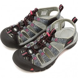 Keen Newport H2 Women's Black/Bright Rose Style #1016288