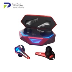 Saramonic SR-BH60 True Wireless Gaming Earbuds Red
