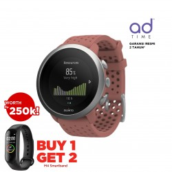 Suunto 3 Graphite Red