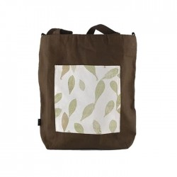 Petals et Bloom Tote Bag Olive Kirana Pouched
